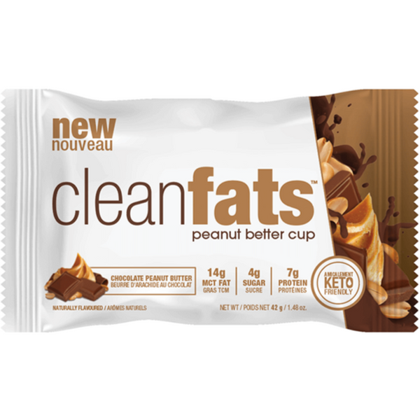 Clean Fats - Peanut Butter Cup, 42g (4711946354820)