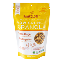 Raw Crunch Granola Lemon Ginger with Camu Camu, 200g (4711891828868)