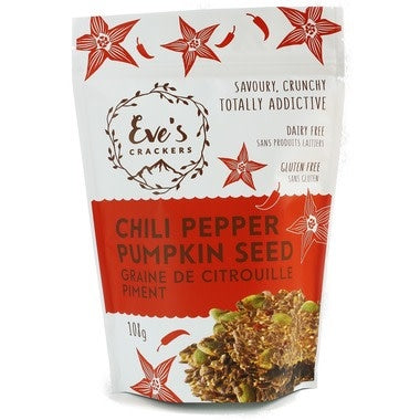Crackers Chili Pepper Pumpkin Seed, 108g (4711858569348)