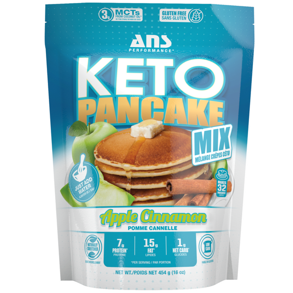 Keto Pancake Mix Apple Cinnamon, 454g (4711898251396)