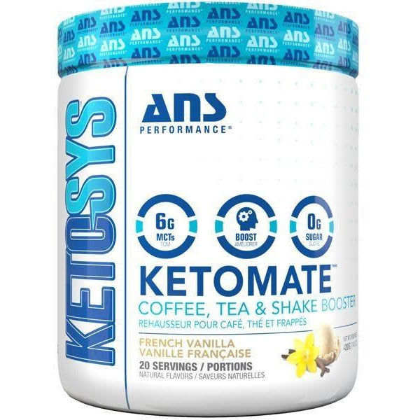 KetoMate Coffee Booster - French Vanilla, 20 servings (4711950024836)
