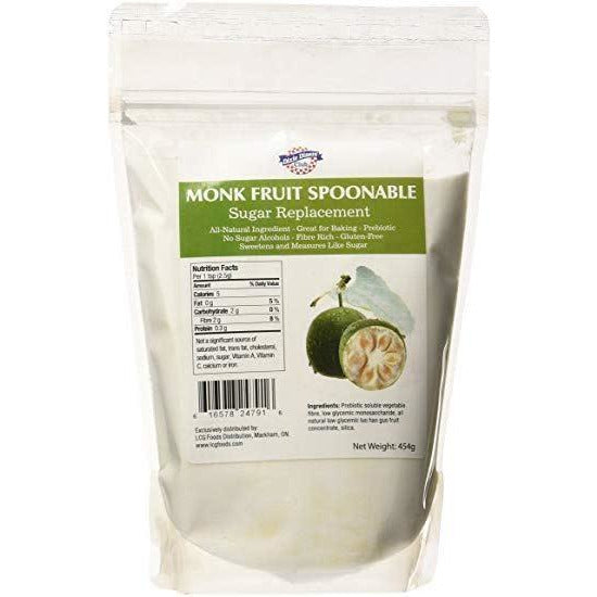Monk Fruit Spoonable - 454g (4711942389892)