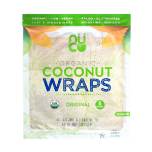 Organic Coconut Wraps Original, 5 pack