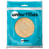 Untortillas - 6 Pack, 210g