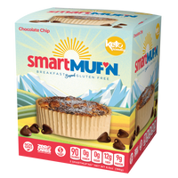 Chocolate Chip Smart muf'n, 186g (4714594697348)