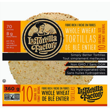 Fibre Rich Whole Wheat Tortilla, 10 Wraps x 36g (4711788609668)