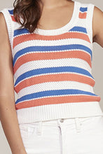 Load image into Gallery viewer, BB Dakota Striped Knit Sleeveless Top