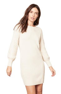 BB Dakota Sweater Days Dress Ivory