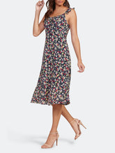 Load image into Gallery viewer, Cupcakes & Cashmere Floral Midi Dress
