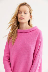 Free People Ottoman Tunic Pink