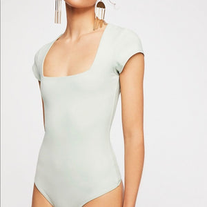 Free People Truth or Square Bodysuit