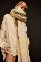 Load image into Gallery viewer, Free People Prep Brushed Plaid Blanket Scarf