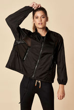 Load image into Gallery viewer, Sugarlips Windbreaker Black
