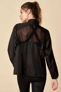 Sugarlips Windbreaker Black