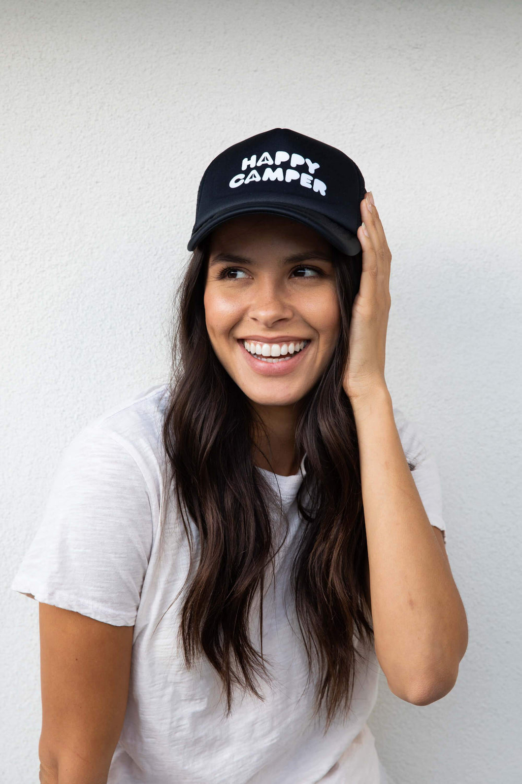 Suburban Riot Happy Camper Trucker Hat