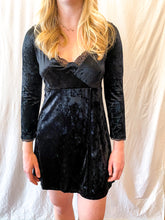 Load image into Gallery viewer, Free People Velvet Mini Dress