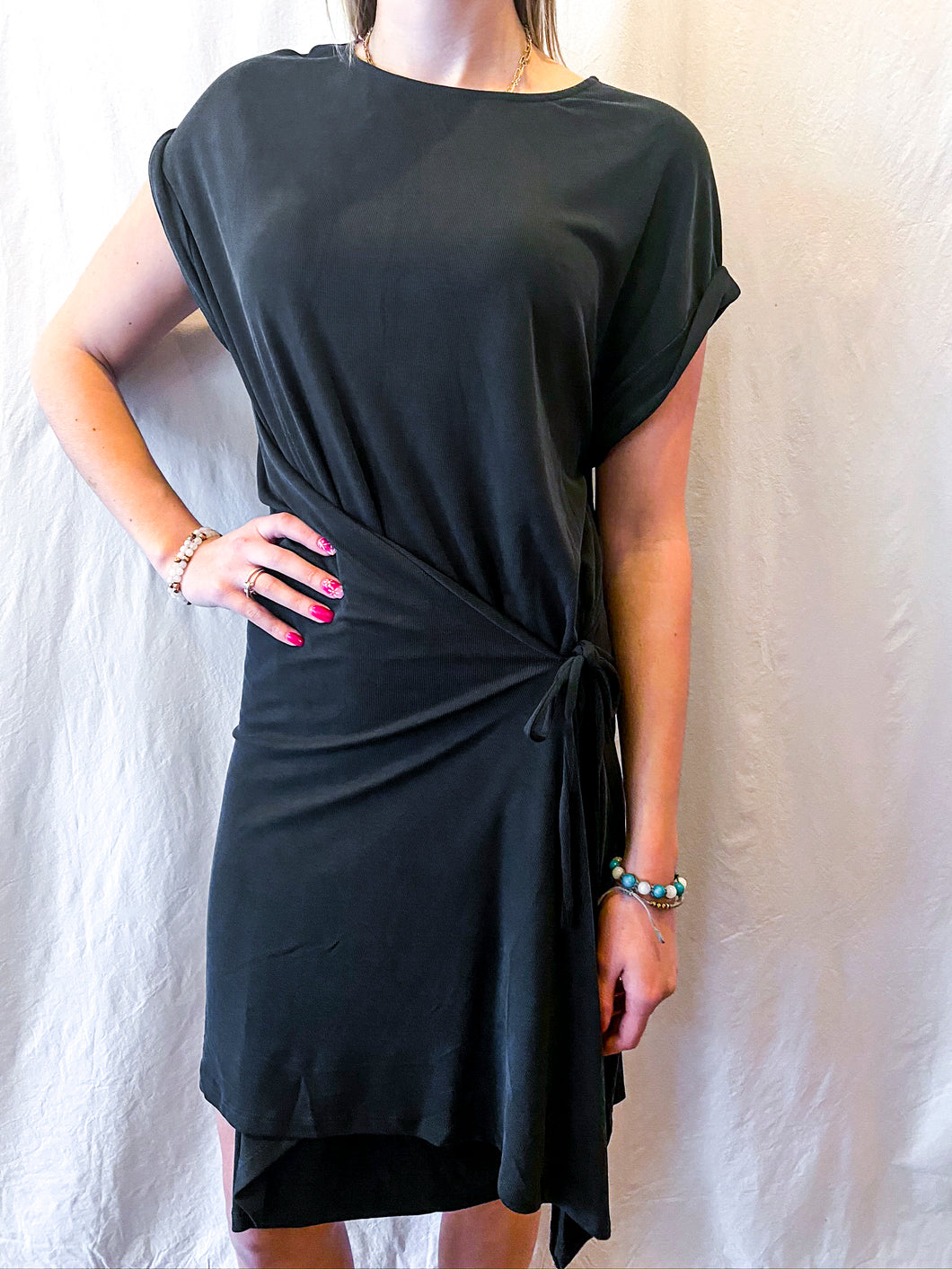 Sugarlips Midi Wrap Dress