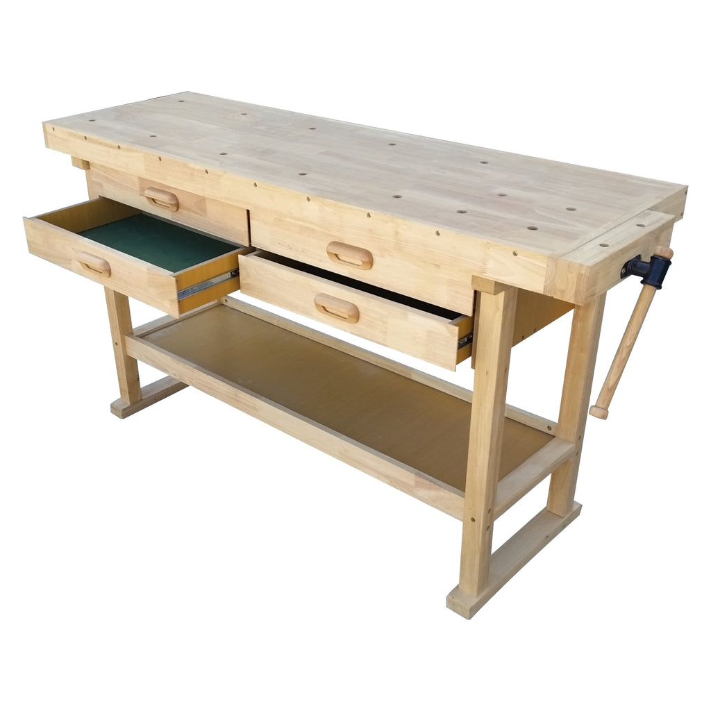 Kitset wooden workbench