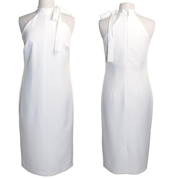 Eva Mendez X New York & Company white cocktail dress, size 10