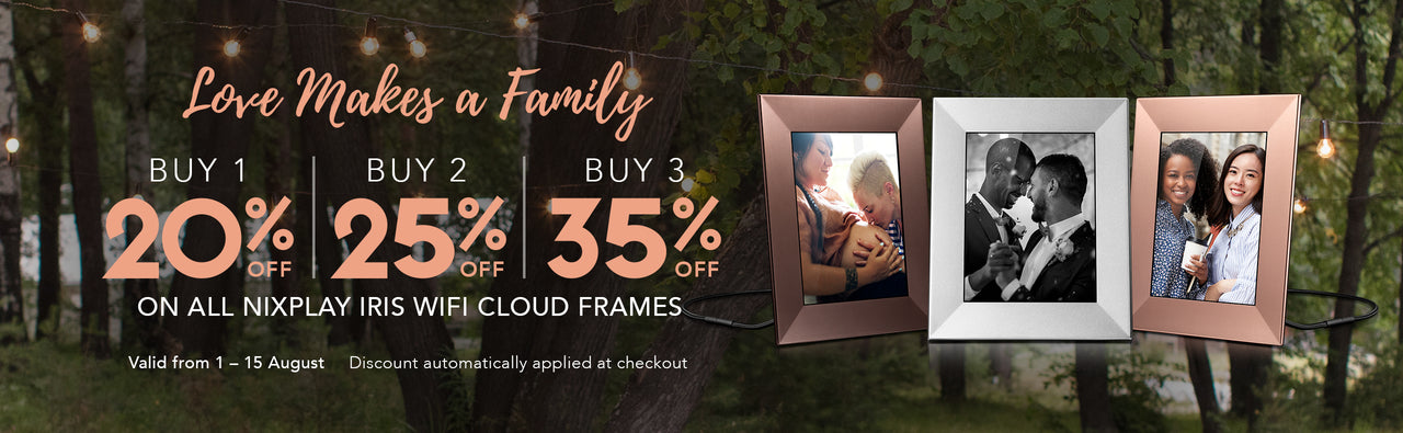 Family week sale
