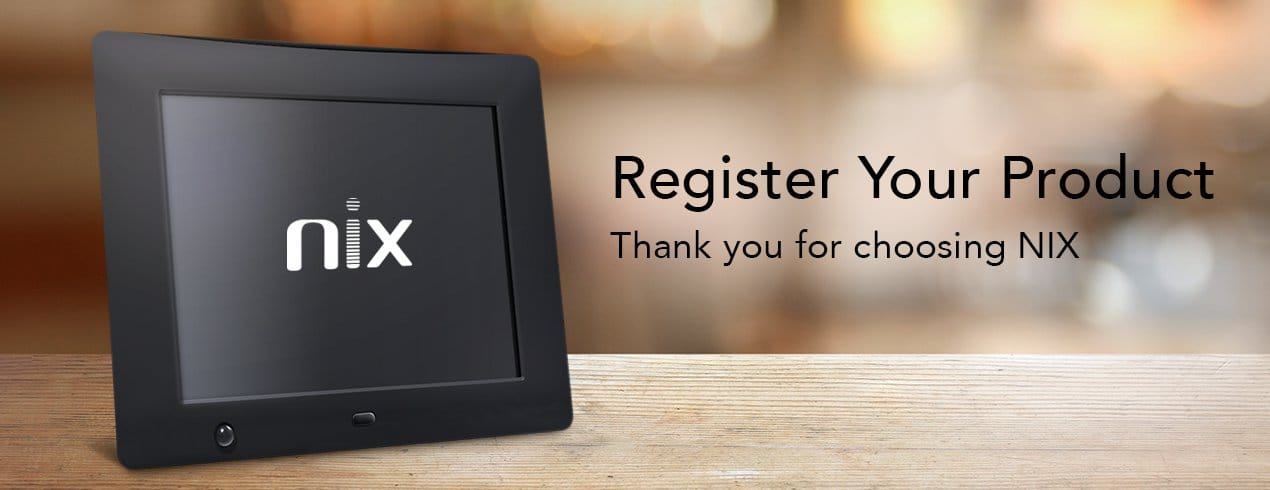 NIX - Warranty Registration