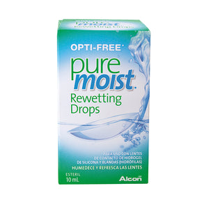 Opti-Free Puremoist Rewetting Drops 10ml