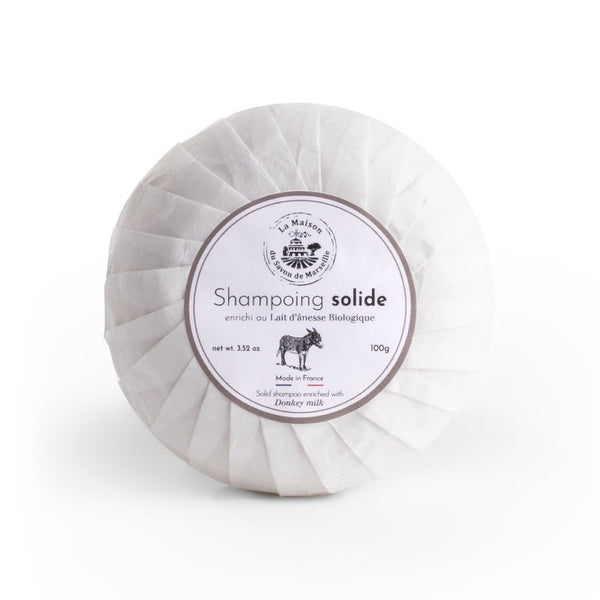 Shampooing solide - Lait d'anesse (100 g)
