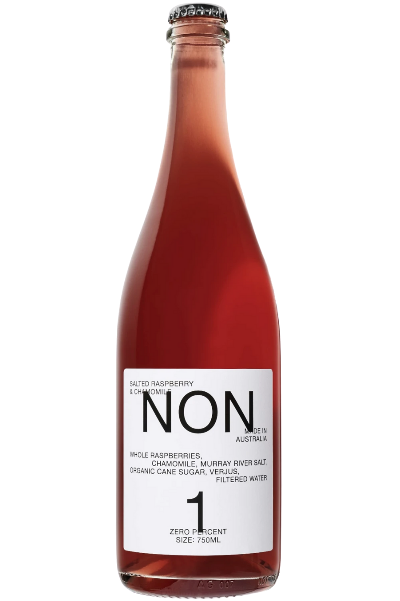 NON 1 Salted Raspberry and Chamomile Alcohol Free Wine