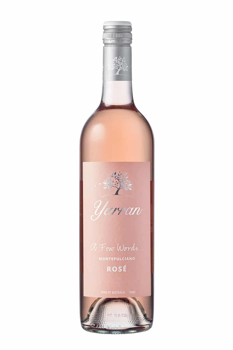 Yarran A Few Words Montepulciano Rose