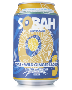 Sobah Boab and Wild Ginger Lager