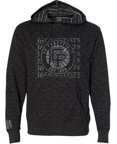 36 CRAZYFISTS 'BROCK STREET BULLY' PULLOVER HOCKEY HOODIE
