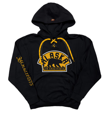 36 CRAZYFISTS 'LANTERNS' PULLOVER HOCKEY HOODIE