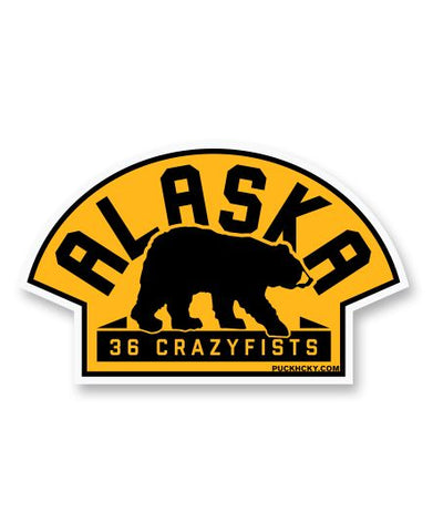 36 CRAZYFISTS 'VINTAGE ALASKA' HOCKEY JERSEY