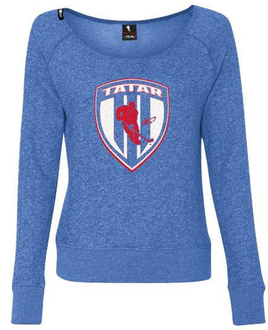 TOMAS TATAR 'TATTER UP' ZIP HOCKEY HOODIE - Women's