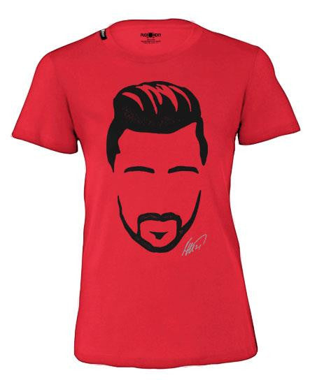 TOMAS TATAR 'TATAR ME' women's short sleeve hockey t-shirt in red