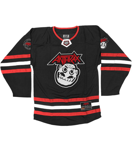 ANTHRAX 'BRAVE AND MIGHTY' HOCKEY RAGLAN