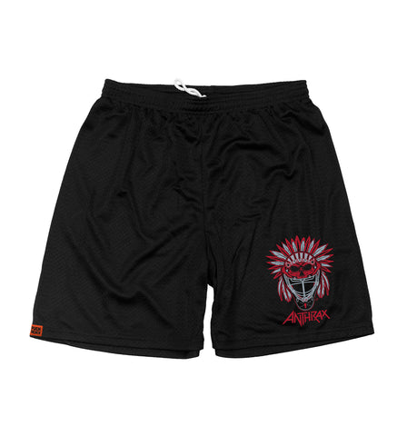 SLAYER 'PUCKIN SLAYER' MESH HOCKEY SHORTS