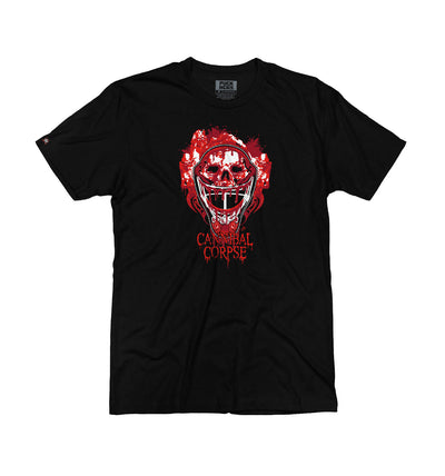 CANNIBAL CORPSE 'CODE OF THE TENDERS' short sleeve hockey t-shirt in black