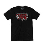 CANNIBAL CORPSE 'HOCKEY CLUB' short sleeve hockey t-shirt in black