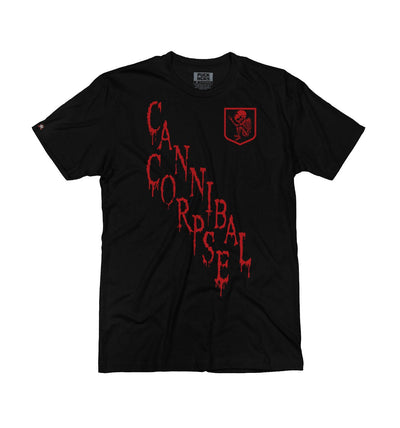 CANNIBAL CORPSE 'ON THE DIAG' short sleeve hockey t-shirt in black