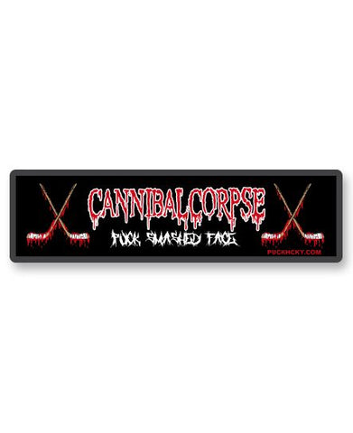 CANNIBAL CORPSE 'OFFICIAL PUCK' SNAPBACK HOCKEY CAP