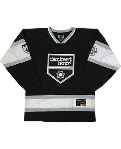DARKEST HOUR 'DELIVER US' HOCKEY JERSEY (BLACK)