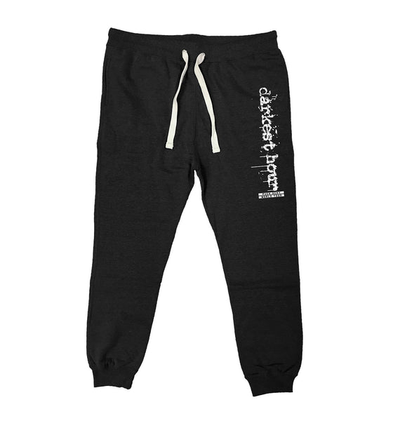 DARKEST HOUR 'WORLD TOUR' performance hockey jogging pants in black heather