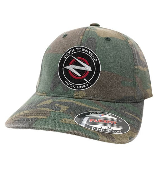 DEVIN TOWNSEND 'OFFICIAL PUCK' fitted hockey cap in green camo