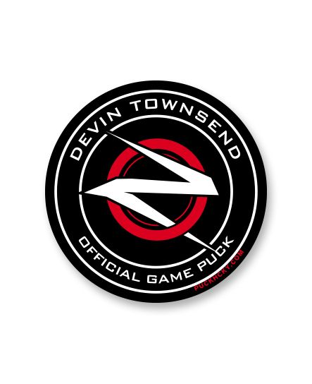 DEVIN TOWNSEND 'OFFICIAL PUCK' hockey sticker