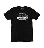 DEVIN TOWNSEND 'PROPERTY OF' short sleeve hockey t-shirt in black