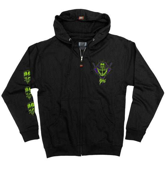 DOYLE WOLFGANG VON FRANKENSTEIN 'MONSTERMAN' ZIP HOCKEY HOODIE