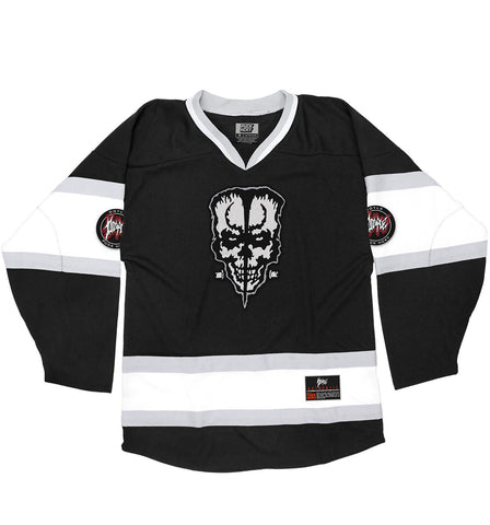 (HED)P.E. 'THE HUNTINGTON' HOCKEY JERSEY (WHITE)