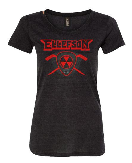 DAVID ELLEFSON 'STICK AND PICK' HOCKEY T-SHIRT - WOMEN'S