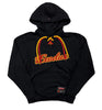 EXODUS 'BONDED BY BLOOD' pullover hockey hoodie in black with red and gold laces